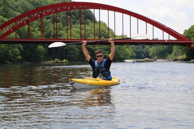 Riding the River with Jesse Hicks of A Day Away Kayak Rentals