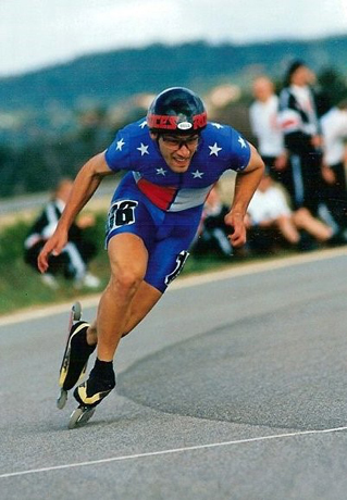 Tony Muse an inline skater wins the world championship