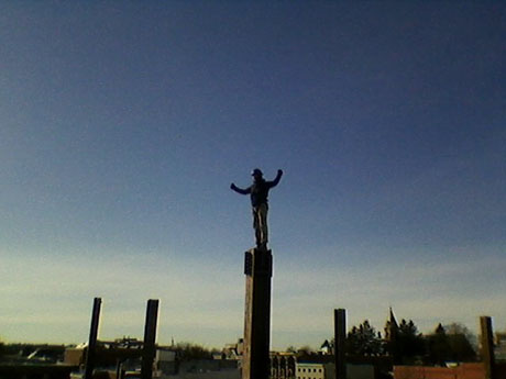 Striking While the Iron is Hot: Ironworker Eric Brugeman