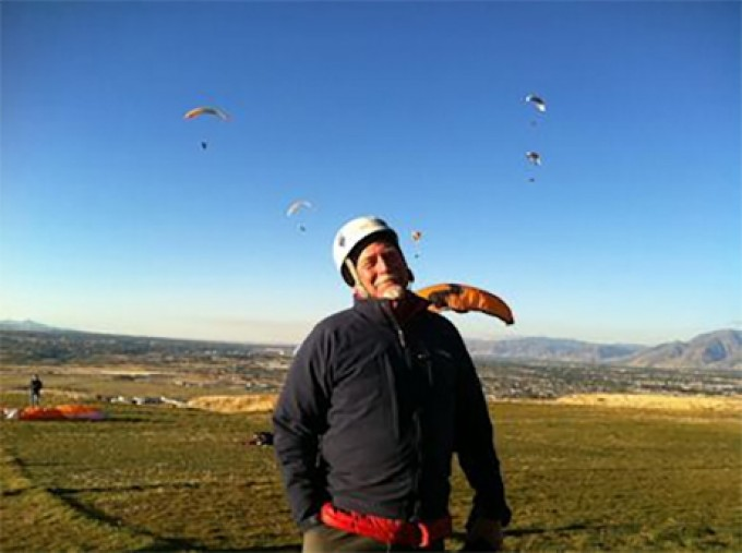 Jeff Bevan: Paragliding, Woodworking & Missing Smells